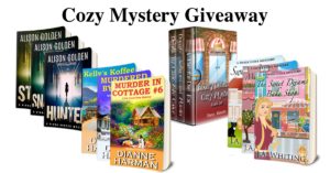 Cozy Mystery Giveaway #1a